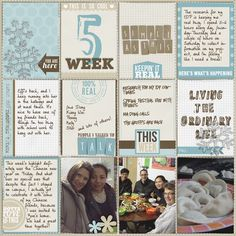 Project Life 2014 - Week 5 - Scrapbook.com