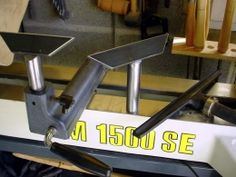 Woodturning Tool Rests