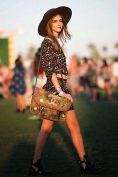 Chiara ❤️ italian girl Coachella style