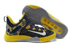 low priced 6c22a 05845 Nike Zoom HyperRev 2015 Midnight Navy Tour Yellow Metallic Silver 705370  407 Paul George PE