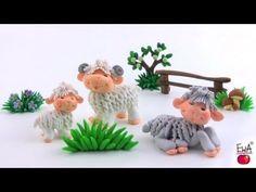 sandylandya@outlook.es ▶ LET'S CLAY! Lamb tutorial - polymer clay - YouTube