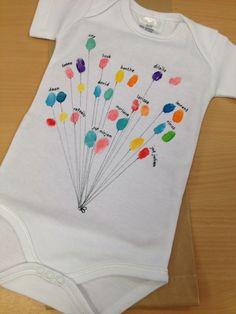 Cadeautje voor een pasgeboren broertje of zusje met de klas!