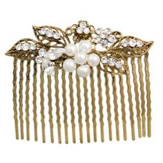 I REALLY want to have wear an antique gold hair comb on my wedding day! Mom start searching!