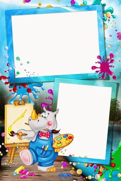Marcos para fotos gratis - Marcos para fotos de niños School Border, Boarders And Frames, Happy Birthday Photos, School Frame, Kids Background, Baby Frame, Birthday Frames, Art Drawings For Kids, Frame Clipart