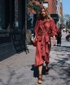 Alexia Bellini in Prada shoes