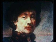 Rembrandt -Fons Rademakers.                   De video is een fragment uit de film 'Rembrandt, schilder van de mens' van filmregisseur Bert Haanstra. Speciaal voor het Rijksmuseum schreef zanger en componist Henny Vrienten muziek bij dit filmfragment. Haanstra had in 1956 opdracht gekregen deze film te maken vanwege het feit dat Rembrandt 350 jaar eerder was geboren.