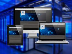 Diseño de sitio web empresarial. Sitio web en HTML5 y CSS3. Diseño de página web adaptada a celulares.