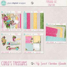 My Sweet Christine Bundle Package by Carla's Treasures Designs.