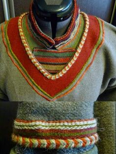 Skjoldehamn Tunic re-creation. Lule Sámi, not Viking. Nice write up here, https://deceitoflapwings.wordpress.com/2014/11/21/the-skjoldehamn-find-and-sami-garb/
