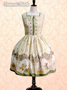 Innocent World ヴェルサイユの舞踏会柄ジャンパースカート