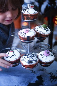 Try this Waitrose recipe for orange-scented Halloween fairy cakes. How will you decorate yours?