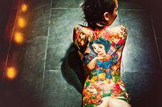 Badass disney tattoo