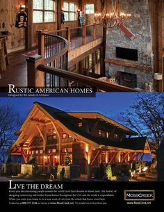 109 Rustic Home Plans - Mountain Living Website