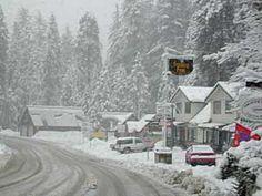 Shaver Lake winter wonderland