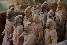 Skanowanie 3D terakotowa armia posągi