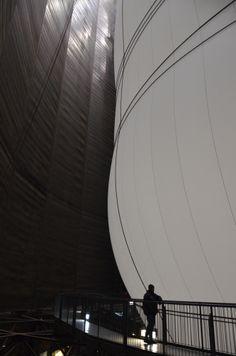 Big Air Package, Christo, Gasometer Oberhausen, 2013