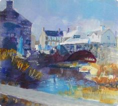 The Bridge, Aberdaron By Anne Aspinall