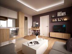 1-izbový byt| strečnianska | MWA, interiérový dizajn, architektúra