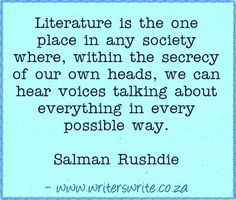 Quotable - Salman Rushdie - Writers Write Creative Blog