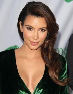 Kim Kardashian always has good makeup