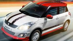 To boost up the sales and enlarge the business in festival months, Maruti Suzuki has launched a limited edition of the Swift, called as Maruti Swift Glory with new features and styling updates. The outlook of the glory gets a contrast colored red roof, side skirts, side decals, racing stripes, wing mirrors and blackened C-pillars.