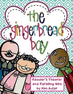 """2013 UPDATE:   This common core aligned, reader's theater is a super-cute simple script for """"The Gingerbread Boy"""". Along with the script there are cards for each of the characters.  These cards can be attached to the back of chair or worn around the neck to identify which character is """"reading""""."""