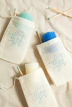 How to make rolled beeswax votive gifts (awesome DIY wedding favor idea at $0.75 each)!