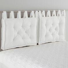 Cojín para cabecero de cama SCENARIO Cojín para cabecero de cama Calidad Best, elegantemente rematado con un efecto de nuditos ¡para un resultado encantador!Características del cojín para...