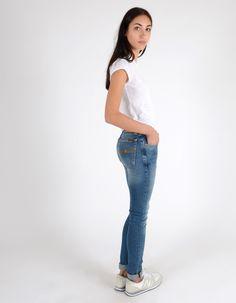 Nudie Jeans SKINNY LIN Easy Strikey