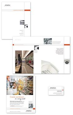 Brochures/Sell Sheets/Flyers by Tim Mullen, via Behance