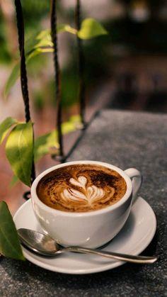 Kfeeeeee 💋☕💋 coffee latte, my coffee, morning coffee, coffee shop, Coffee Latte Art, Cappuccino Coffee, Coffee Cafe, Coffee Drinks, Café Chocolate, Coffee Shot, Fresh Roasted Coffee, Aesthetic Coffee, Good Morning Coffee
