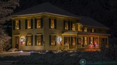 On the back roads of Vermont. An old farm house is all decorated for the holidays on the back roads of Vermont.  PLEASE show some love. Please share and like.  Feel free to visit my website - http://ift.tt/2aTNg7U  #vermont #newenglandphotography #newengland #landscape #newengland_photography #ScenicVermontPhotography #ScenicVermont #VT #Ilovermont