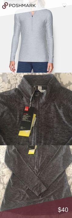 9d9b21d51222 NWT  Under Armour Golf women s pullover Dark grey Under Armour longsleeve  pullover! Very soft