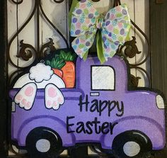 Check out this item in my Etsy shop https://www.etsy.com/listing/270016938/happy-easter-truck-filled-with-bunny-and