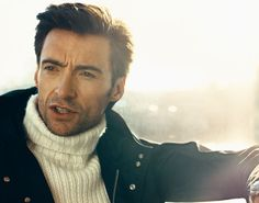 Another sexy export from Australia: the über-hunk Hugh Jackman. He's insanely gorgeous and charming, can sing, dance and on top of that is Wolverine.