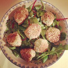 Qui veut des bonnes boulettes (au poulet et à la menthe et au sésame) ? | Le Blog de l'Ornithorynque Chafouin