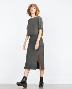 ZARA - NEW IN - MIDI SKIRT