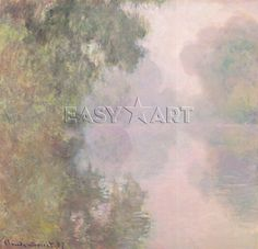 The Seine at Giverny, Morning Mists, 1897 | Art2Order | Next.co.uk