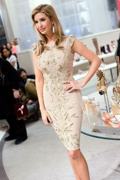Ivanka Trump is one of my icons too. She presents as elegant, cool, powerful and sensuous.