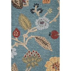 This beautifully made area rug has a floral design which will compliment the style of your room. It is a high quality handmade area rug made of Wool and Art Silk. It has a plush pile, is very durable ...