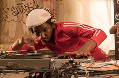 Mamoudou Athie, who plays Grandmaster Flash in <i>The Get Down</i>.