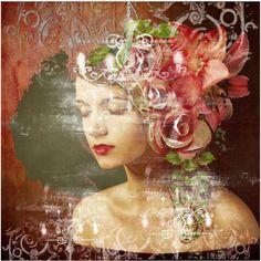 """""""Flowers in her Hair"""" by village-poet"""