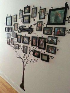 13 Creative Ways To Display Photos & Decorate Your Home | Postris
