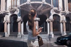 Splendid Use Of Oil Colors In Realistic Art by Marc Figueras | Clickker News | art Artist Artistic Artwork Barcelona beautiful canvas Colors creativity entertainment JM Bonet Marc Figueras Paintings people Sagrada Familia cathedral Spain