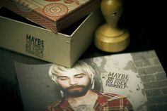 'maybe...' stamp
