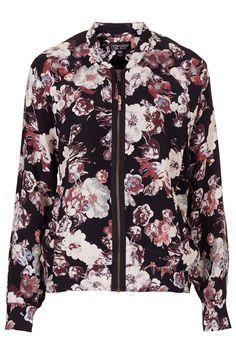 Flora Bomber Jacket