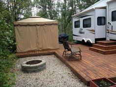 Image result for seasonal campsite ideas