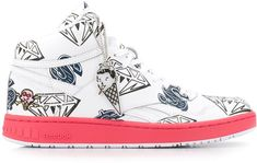 BBC Ice Cream Reebok sneakers   #affiliate #reebok #deals #offers Ice Cream Sneakers, High Top Sneakers, Sport Outfits, Bbc, Converse Chuck Taylor, Reebok, Lace Up, Sports Apparel, Ankle