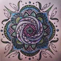 Mandala Pattern & Color