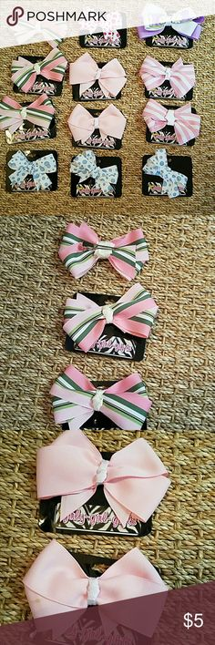 Hairbows Hairbows Price is per a bow you can choice which ones you want Accessories Hair Accessories